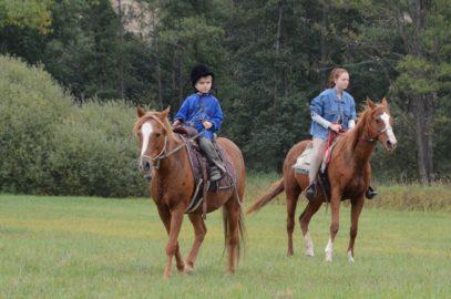 Koňský tábor pro děti 2017