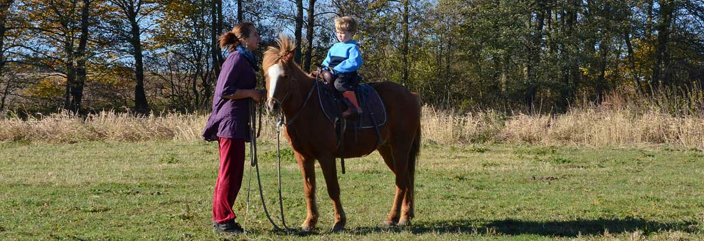 Hlídání dětí na farmě