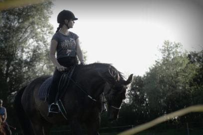 víkendové skupiny s koňmi pro děti v Dožicích – podzim, zima 2021