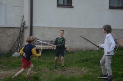 víkendové tábory s koňmi pro děti v Dožicích – podzim 2019